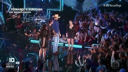 Fernando & Sorocaba canta 'Zona de Risco'