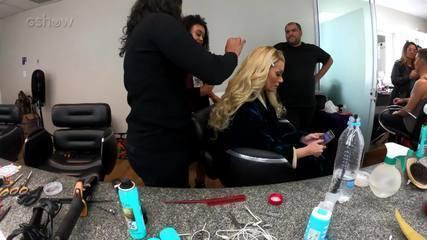 Confira a transformação de Solange Almeida em Mariah Carey