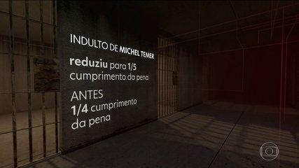 Indulto de Temer dá perdão de pena a condenados no mensalão e na Lava Jato