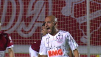 Os gols de Vila Nova-GO 1 x 2 Corinthians em amistoso preparatório