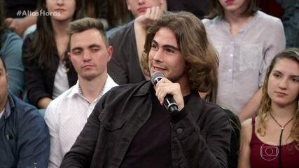 Rafael Vitti diz que recebeu muitos toques do pai
