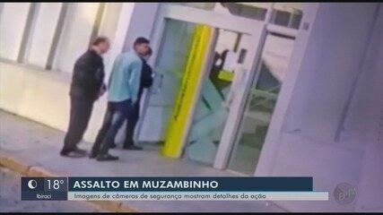 Criminosos assaltam banco e fazem funcionário e esposa reféns em Muzambinho (MG)