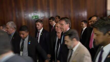 Bolsonaro vai à Câmara para participar de evento da bancada evangélica