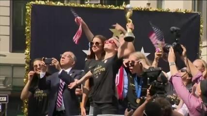 Seleção americana de futebol feminino recusa encontro com Donald Trump