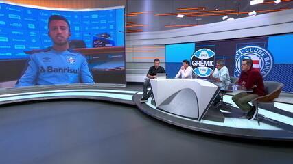 Meio-campo do Grêmio, Matheus Henrique participa do Seleção SporTV
