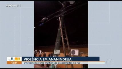 Polícia investiga morte de casal no bairro do Coqueiro