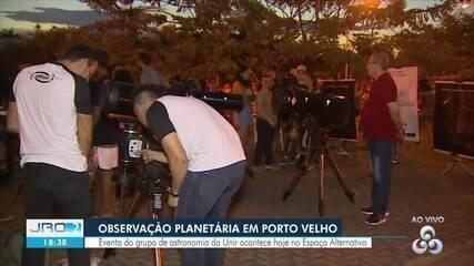 Unir realiza observação pública de astronomia