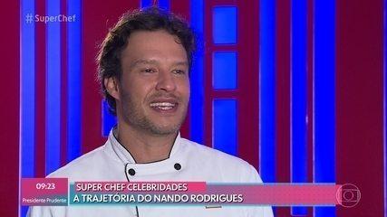 Relembre a trajetória de Nando Rodrigues no 'Super Chef Celebridades 2019'