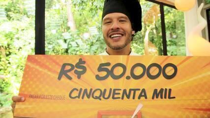 Nando Rodrigues comenta vitória no Super Chef