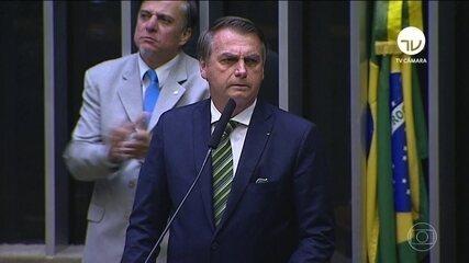 Bolsonaro rebate críticas à intenção de tornar o filho Eduardo embaixador nos EUA