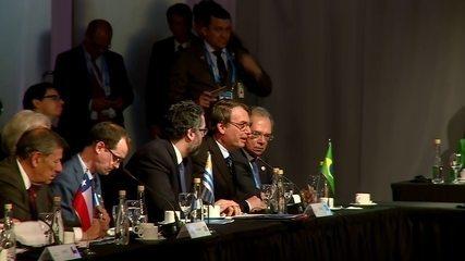 Em discurso no Mercosul, Bolsonaro diz que é preciso 'zelo' nas indicações para embaixadas