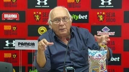 Presidente do Sport fala sobre jogadora do Sport