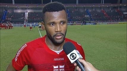 Willie fala sobre gol e vitória do CRB sobre o Criciúma
