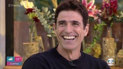 Reynaldo Gianecchini revela particularidade de Aghata Moreira durante as gravações