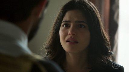 Laila tenta convencer Jamil a fugir com ela