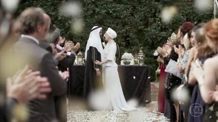 Dalila se casa com Jamil