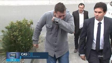 Suspeito de matar namorada com tiro no peito em SC se apresenta à polícia