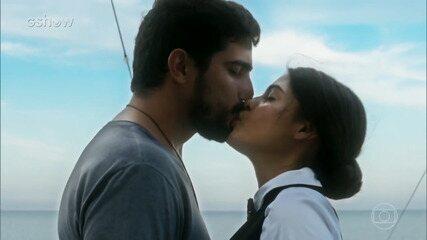 Relembre o triângulo amoroso entre Jamil, Laila e Dalila