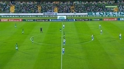 Melhores Momentos: Guarani 2 x 1 São Bento, pela Série B do Brasileiro
