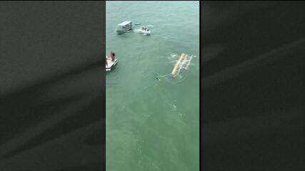 Acidente com catamarã deixa 2 mortos e feridos em Alagoas