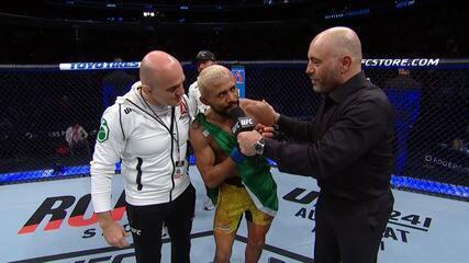 """Deiveson Figueiredo sobre vitória no UFC 240: """"Eu amo me divertir, eu amo brigar"""""""