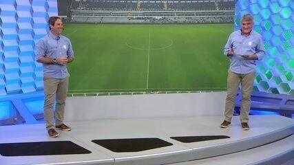Caio Ribeiro e Cléber Machado analisam vitória do Santos sobre o Avaí