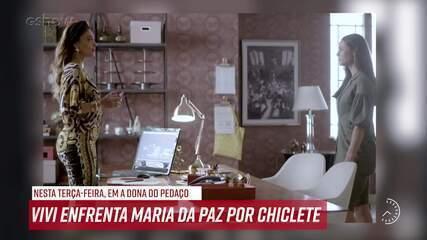 Resumo do dia - 30/07 – Vivi enfrenta Maria da Paz por Chiclete
