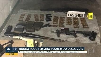 Polícia acredita que roubo de ouro em Guarulhos pode ter sido planejado há um ano e meio