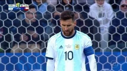 Conmebol suspende Messi por 3 meses.