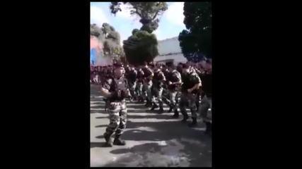 Vídeo polêmico de comemoração da Rotam circula nas redes sociais