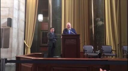 Juiz Moro enfrenta protestos em evento nos EUA