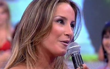 Claudia Leitte se despede do Babado Novo no Domingão