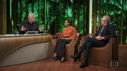 Marina Silva critica atual ministro do meio ambiente