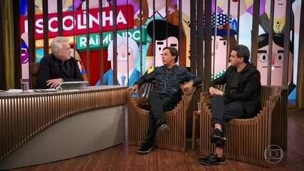 Tom Cavalcante e Marcos Veras falam sobre parcerias com Agildo Ribeiro
