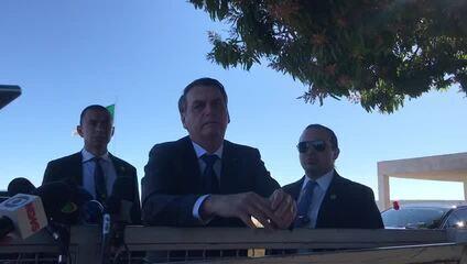 Bolsonaro diz que espera um PGR que trate questão ambiental 'sem radicalismo'