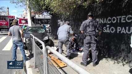 Nove pessoas são vítimas de atropelamento todos os dias na capital