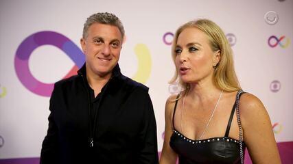 Luciano Huck e Angélica falam sobre a inauguração do MG4 (Imagem e edição: Chico Couto e Marina Pirozi)