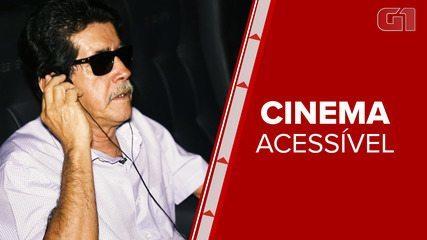 Deficiente visual conta experiência da audiodescrição no cinema