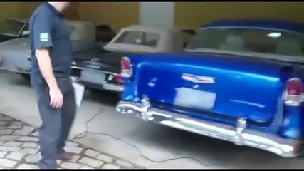 PF apreende  coleção de carros antigos do lobista Zwi Skornicki