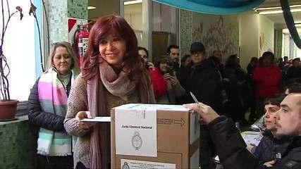 Chapa de Cristina Kirchner vence eleições primárias na Argentina