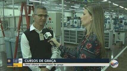 Senai oferece vagas para cursos gratuitos em Araraquara, Rio Claro e São Carlos