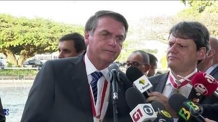 Bolsonaro diz que vai consultar ministros para decidir sobre lei de abuso de autoridade