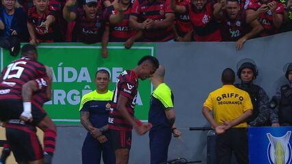 Gol inicialmente dado para Bruno Henrique foi alterado para Gabigol após publicação da súmula do jogo