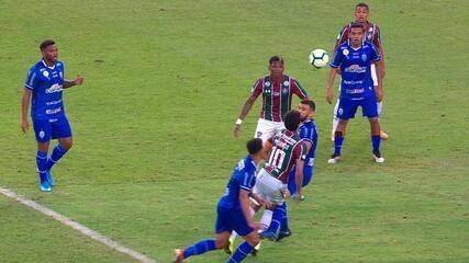Central do Apito: Sandro Meira Ricci enxerga novo pênalti para o Fluminense, que anularia gol do CSA