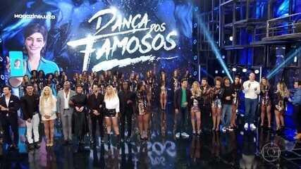 Veja quem dança com quem no 'Dança dos Famosos 2019'