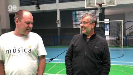 Primeiros treinadores falam sobre as origens de Lomba no futsal e no Flamengo