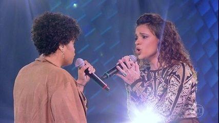 "Larissa Marinonio e Samara Alves cantam ""Best Part"""