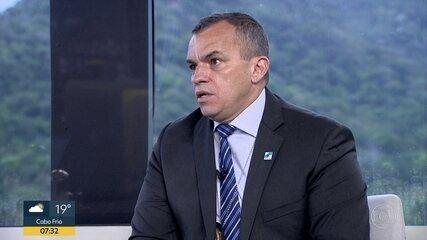 Secretário de Polícia Civil do RJ fala sobre sequestro de ônibus na Ponte Rio-Niterói