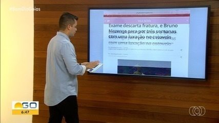 Exame descarta fratura, e Bruno Mezenga; dois jogadores são apresentados
