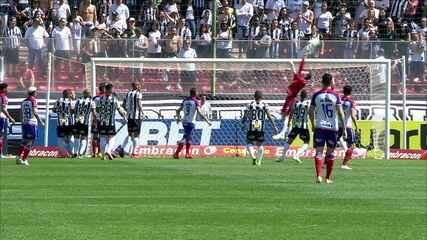 Melhores momentos de Atlético-MG 0 x 1 Bahia pela 16ªrodada do Campeonato Brasileiro